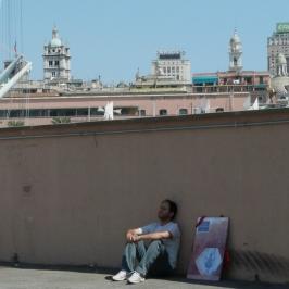 Riposando a Genova