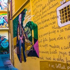 I murales di Orgosolo - Sardegna