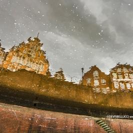 Borgo con neve - Germania