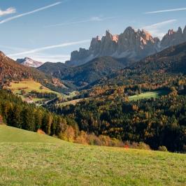 Autunno in Val di Funes, Alto Adige
