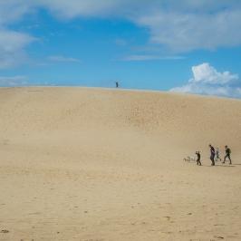 Dune di sabbia, Danimarca del nord